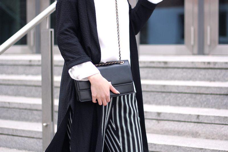 outfit 7girls7styles schwarz weiß blogparade details