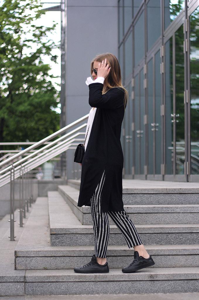 outfit schwarz weiß 7 girls 7 styles blogparade