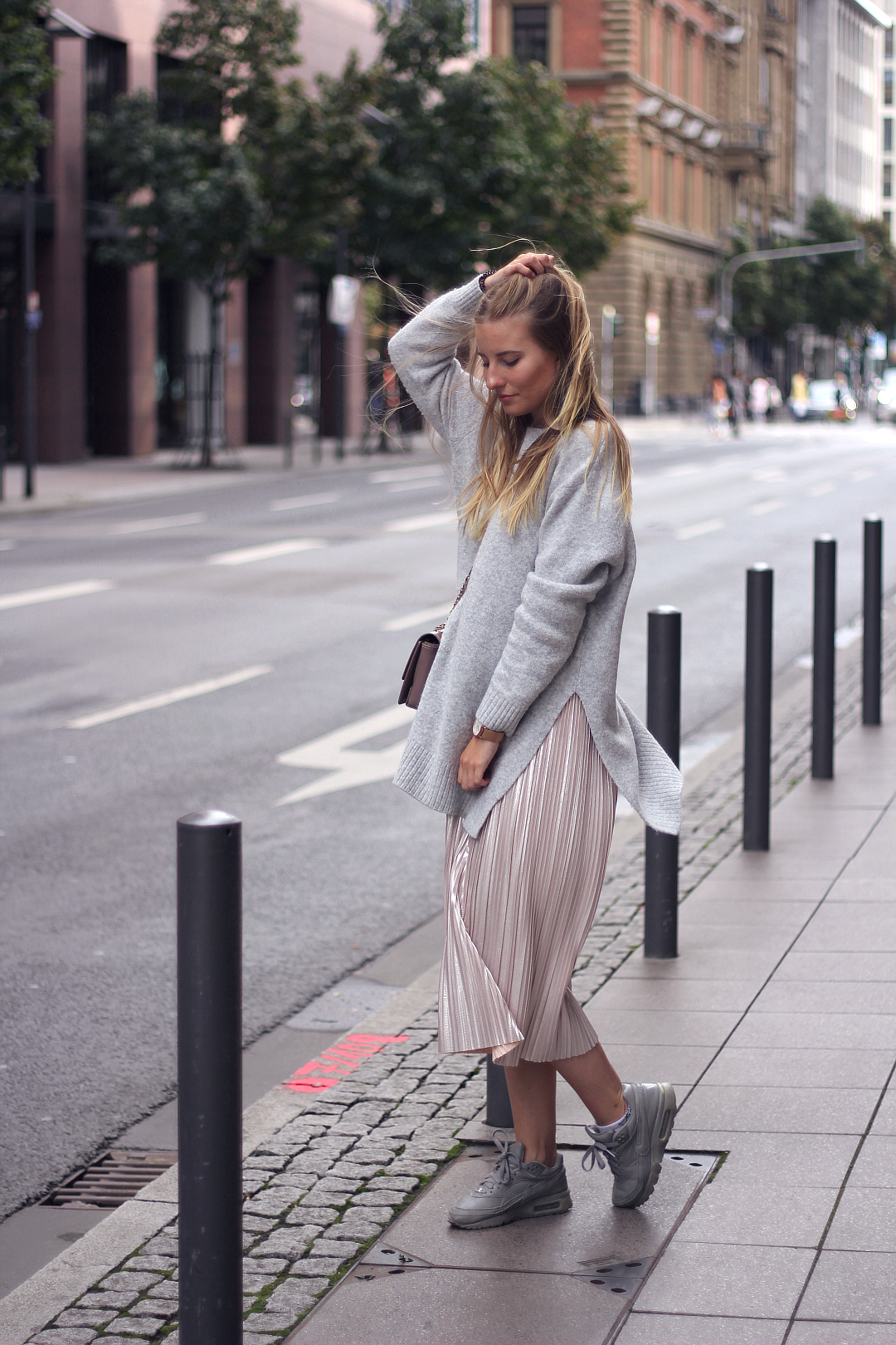 outfit pullover und culotte herbst look