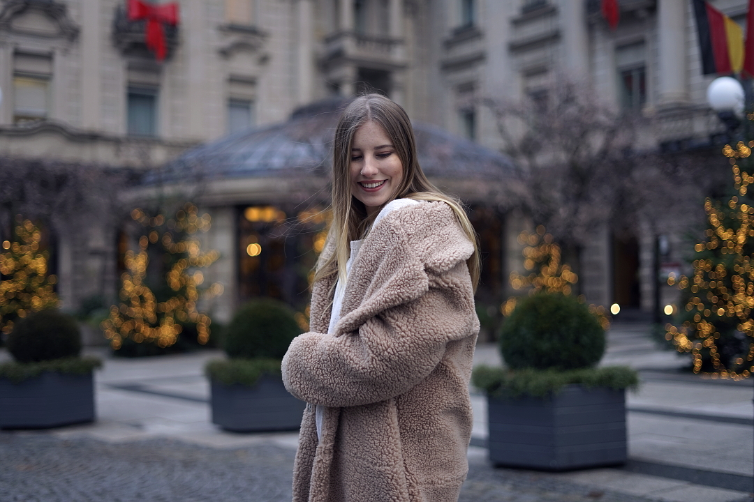 smile 3 advent insta mit teddy hm coat