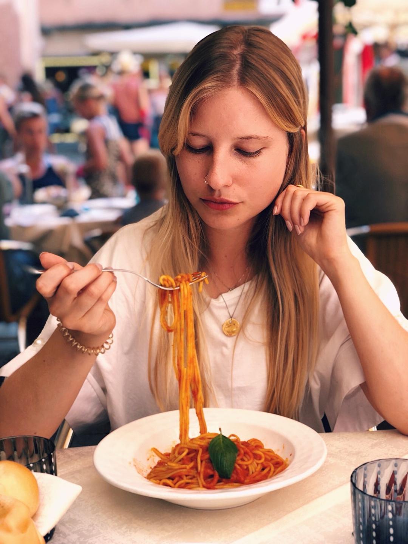 pasta in venedig spaghetti